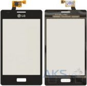 Сенсор (тачскрин) для LG Optimus L5 E610, Optimus L5 E612 Black