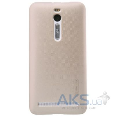 Чехол Nillkin Super Frosted Shield Asus ZenFone 2 ZE550ML, ZE551ML Gold