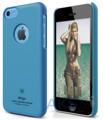 Чехол Elago Slim Fit Case For iPhone 5С Blue
