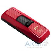Вид 3 - Флешка Silicon Power 64Gb Blaze B50 Red USB 3.0 (SP064GBUF3B50V1R)