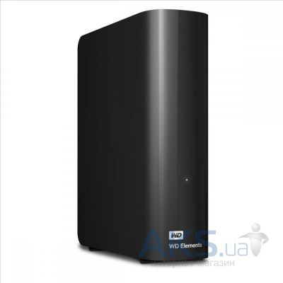 Жесткий диск внешний Western Digital Elements Desktop 4TB (WDBWLG0040HBK-EESN)