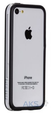Чехол Griffin protective frame for iPhone 5C Black