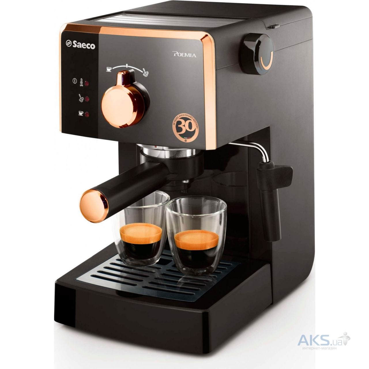 Кофемашина Philips HD8649/01 1400 Вт черный