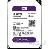Жесткий диск Western Digital Purple 8TB WD80PUZX