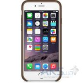 Вид 2 - Чехол Apple Leather Case iPhone 6 Olive Brown (MGR22)