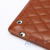 Чехол для планшета JisonCase Quilted Leather Smart Case for iPad mini/mini 2 Brown (JS-IDM-02G20(002D))