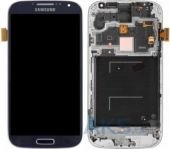 Дисплей (экран) для телефона Samsung Galaxy S4 I9500 + Touchscreen with frame Original Blue