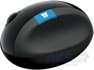 Компьютерная мышка Microsoft Sculpt Ergonomic Mouse (L6V-00005) Black