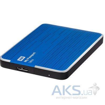 Жесткий диск внешний Western Digital 2.5 2TB My Passport Ultra (WDBMWV0020BBL-EESN) Blue