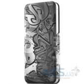 Чехол ITSkins Plume Precious for iPhone 5/5S Dark Grey (APH5-FETHR-DAGR)