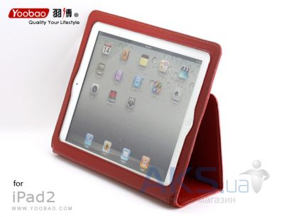 Чехол для планшета Yoobao Executive leather case for Pad 2/3/4 Red (LCAPIPAD3-RD)