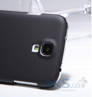 Вид 4 - Чехол Nillkin Super Frosted Shield Samsung i9500 Galaxy S4 Black
