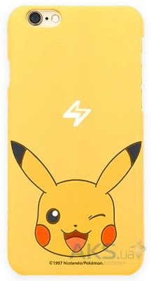 Чехол Original Ultra Thin TPU Pokemon Go Series Apple iPhone 6, iPhone 6S Pikachu
