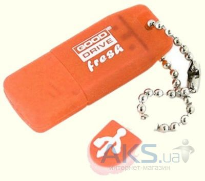 Флешка GooDRam 8Gb Fresh Orange (PD8GH2GRFONR/PD8GH2GRFOR9) Orange