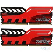Оперативная память Geil DDR4 16GB (2x8GB) 3200 MHz EVO Forza Hot-Rod Red (GFR416GB3200C16ADC)