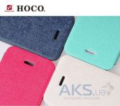 Вид 3 - Чехол Hoco Star book leather case for iPhone 5C Mint Green (HI-L040)