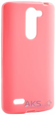 Чехол Melkco Poly Jacket TPU for LG L80+ Bello/D335 Pink