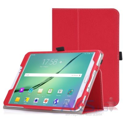 Чехол для планшета TTX Leatherette case for Samsung T710 Galaxy Tab S2 8.0 Red
