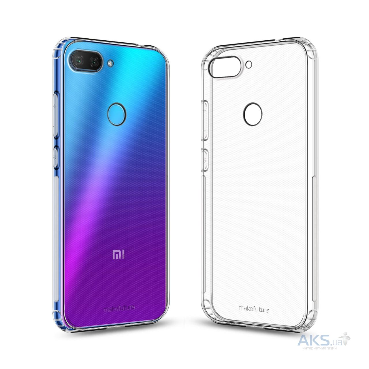Чехол MakeFuture Air Xiaomi Mi 8 Lite Clear (MCA-XM8LCL) - фото 2