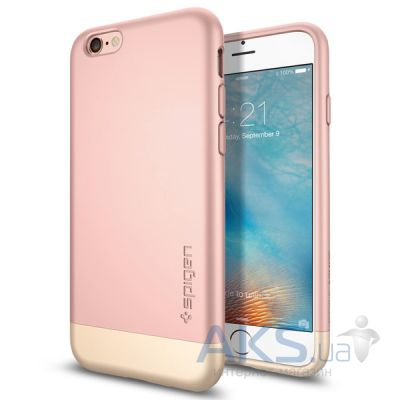 Чехол SGP Case Style Armor Series for iPhone 6/6S Rose Gold (SGP11724)