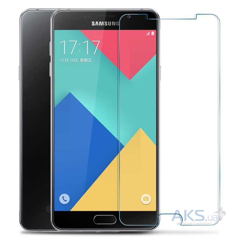 Защитное стекло Tempered Glass 2.5D Samsung J710 Galaxy J7 2016 (Тех.пак)