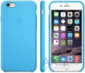 Чехол Apple Silicone Case iPhone 6S Blue (MKY52)