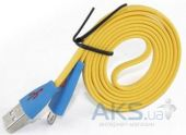 Вид 3 - Кабель USB LED USB Lightning Cable for iPhone 6 Yellow / Blue