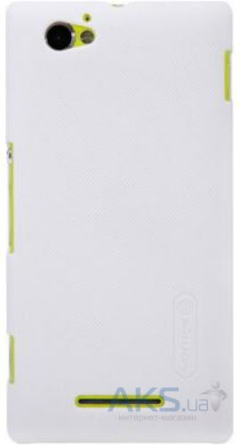 Чехол Nillkin Super Frosted Shield Sony Xperia M C1905, Xperia M C2005 Dual White