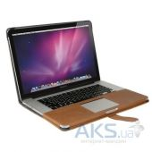Вид 3 - Чехол Decoded Leather Slim Cover for MacBook Pro Retina 13 Brown (D4MPR13SC1BN)