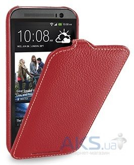 Чехол TETDED Leather Flip Series HTC One M8 Red