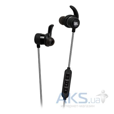 Наушники (гарнитура) JBL In-Ear Headphone Reflect Mini BT Black (JBLREFMINIBTBLK)