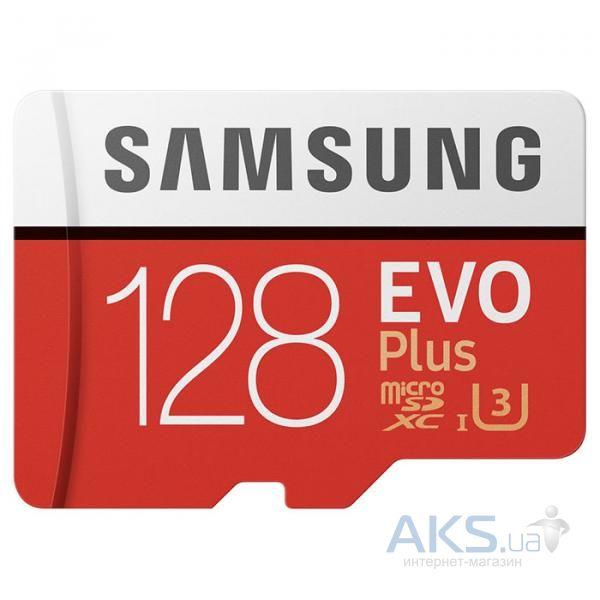 Карта памяти Samsung 128GB microSDXC UHS-I U3 (MB-MC128GA/RU)