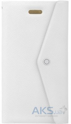 Чехол Fenice Clutch Prada Apple iPhone 5, iPhone 5S, iPhone SE White (CLUTCH-WH-AIP5)