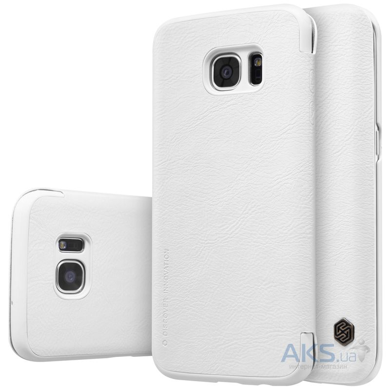 Чехол Nillkin Qin Leather Series Samsung G935 Galaxy S7 Edge White
