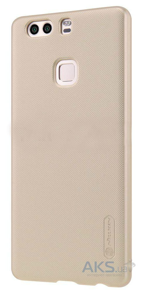 Чехол Nillkin Super Frosted Shield Huawei Ascend P9 Plus Gold