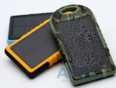 Вид 5 - Внешний аккумулятор power bank MANGO IPX6 waterproof solar,12000mAh Сamouflage Green