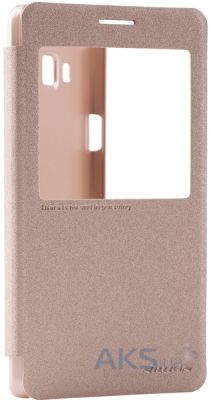 Чехол Nillkin Sparkle Leather Series Samsung A700H Galaxy A7 Golden