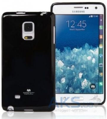 Чехол Mercury TPU Jelly Color Series Samsung N915 Galaxy Note Edge Black