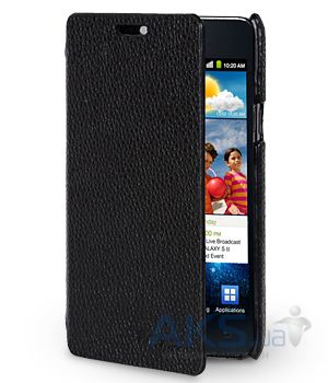 Чехол Melkco Face Cover Jacka leather case for Samsung I9100/I9105 Galaxy S II Black (SS9100LCFB2BKLC)