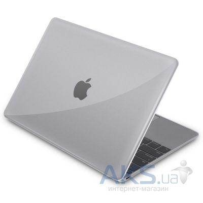 "Чехол Macally Hard shell protective case for MacBook 12"" Transparent"