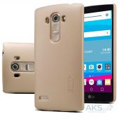 Чехол Nillkin Super Frosted Shield LG Optimus G4S H734 Dual Gold