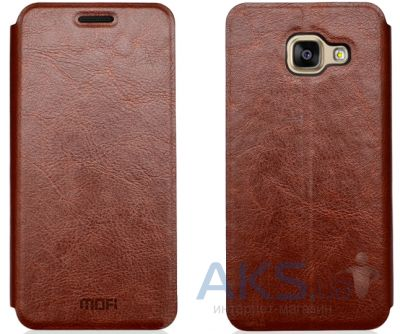 Чехол Mofi Leather Case Samsung A310 Galaxy A3 2016 Brown