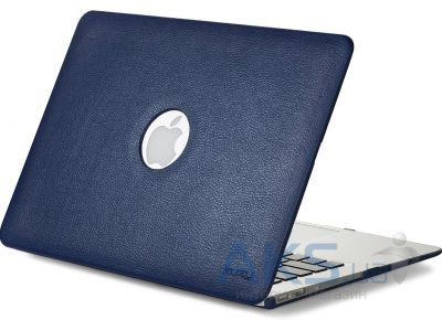 Чехол Kuzy Leather Case for MacBook Pro 13(with Retina display) Blue