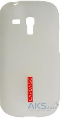 Чехол Capdase Чехол Soft Jacket2 Samsung i8190 White