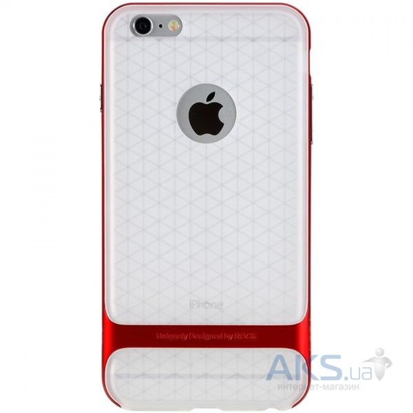 Чехол Rock Royce Transparent Series Apple iPhone 6, iPhone 6S Red