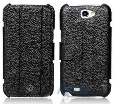 Чехол Hoco Classic leather case for Samsung N7100 Galaxy Note II Black (HS-S014)