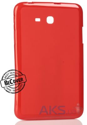 Чехол для планшета BeCover Silicon Case Samsung T110 Galaxy Tab 3 7.0 Lite Red (700538)