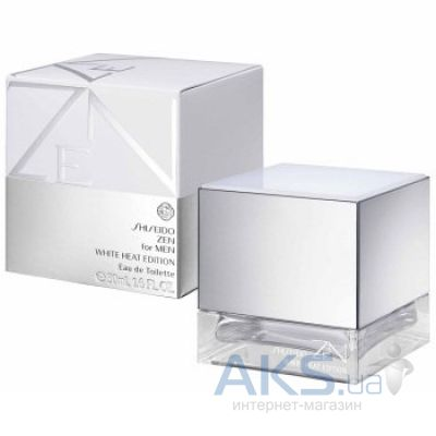 Shiseido Zen for Men White Heat Edition Туалетная вода 50 ml
