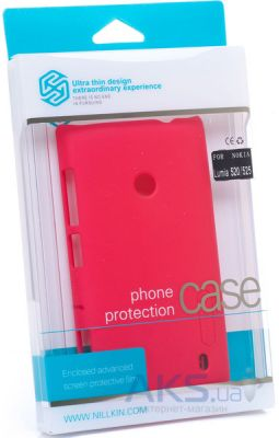 Чехол Nillkin Super Frosted Shield Nokia Lumia 520/525 Red