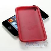 Вид 3 - Чехoл SGP Ultra Silke Case Dante Red for iPod touch 4G